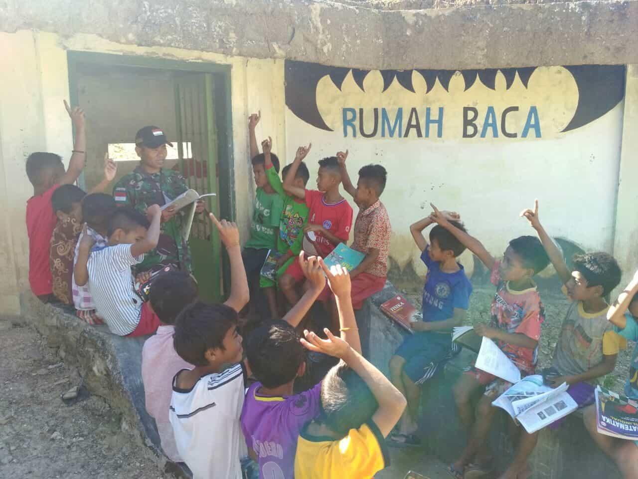 Subrastha, Rumah Baca Cerdaskan Anak Perbatasan Ri-rdtl