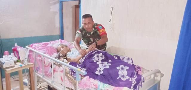 Alami Koma, Nenek Usia 74 Tahun Dievakuasi Danramil Samalantan