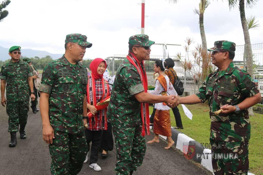 Kunjungan Kerja Dankodiklatad Ke Maluku dan Maluku Utara
