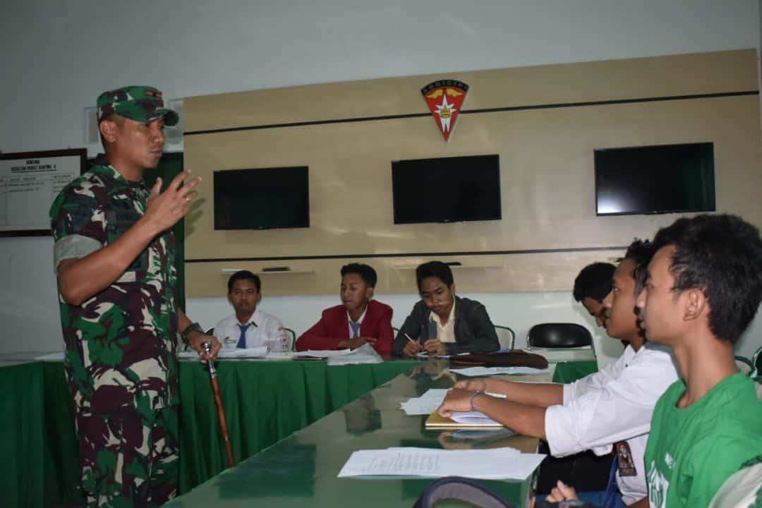 Bangun Generasi Muda, Yonarmed 13 Gelar Geo Bagi 150 Pelajar Ngawi