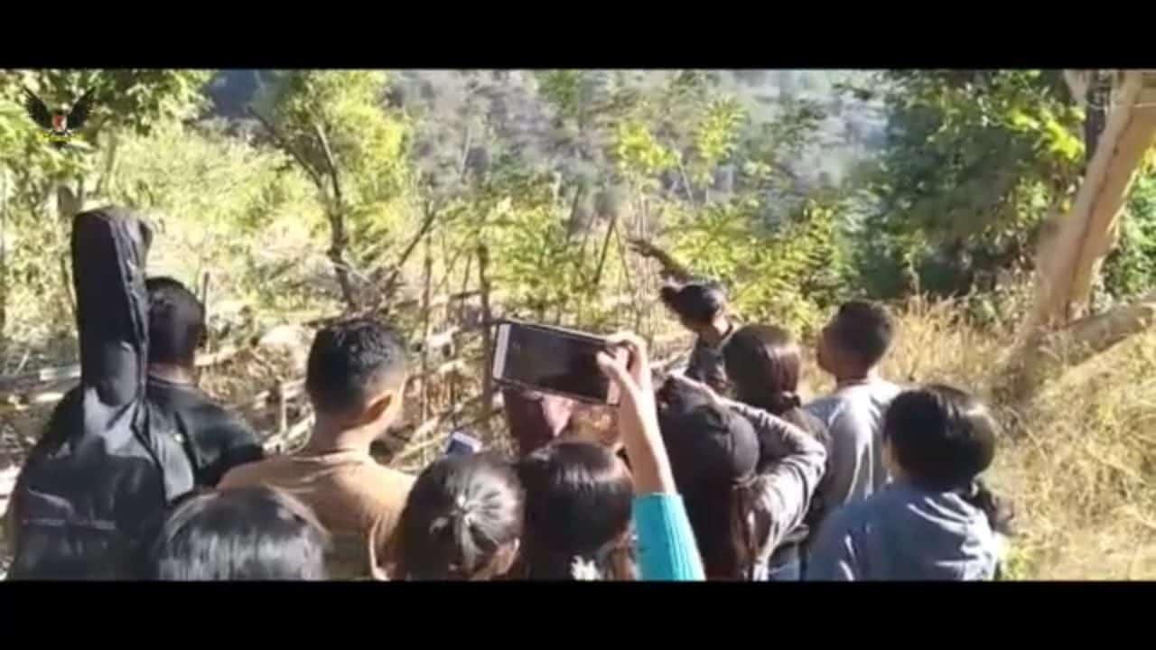 Sosialisasikan Perbatasan Negara, Yonif 741 Gelar Kemah Bersama