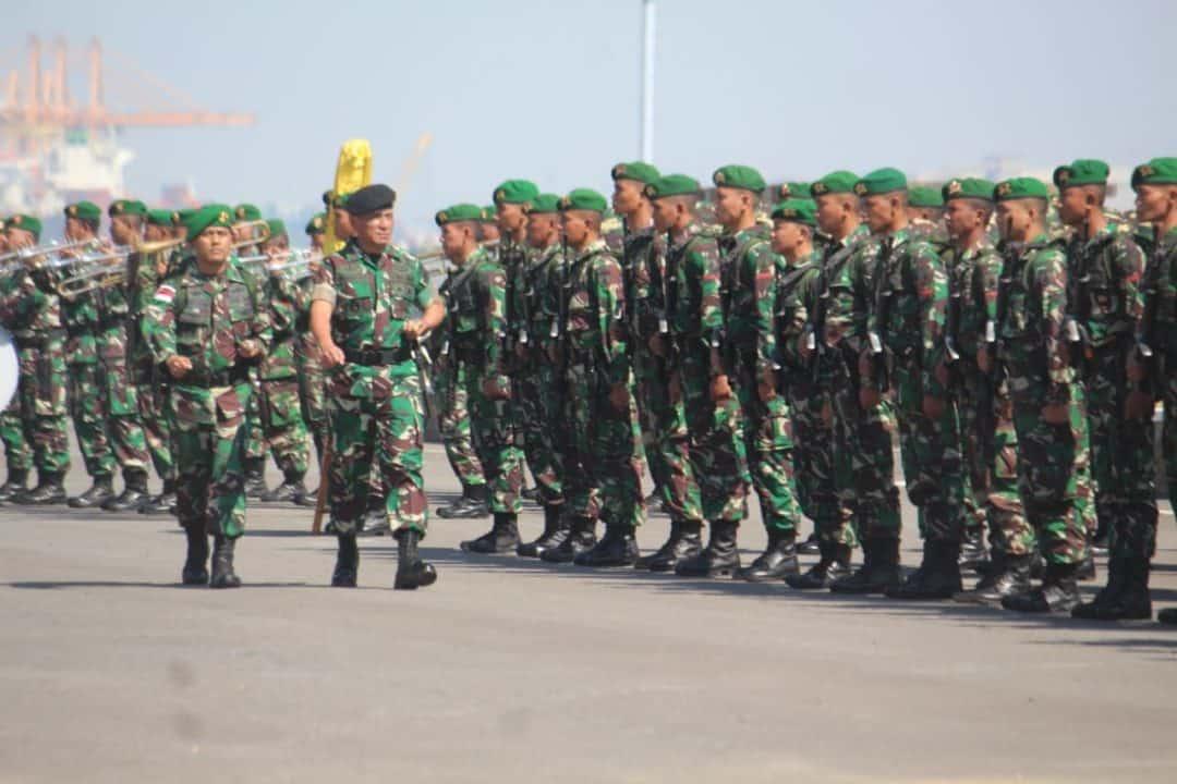 Purna Tugas Di Perbatasan Ri-png,  Satgas Yonmek 521 Tiba Di Home Base
