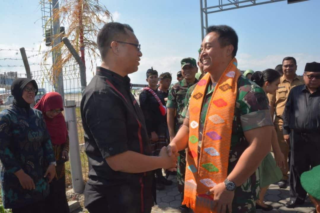 Kunjungan Kerja Di Lombok, Kasad Dianugerahi Gelar Pemben Agung Yudhe Negare