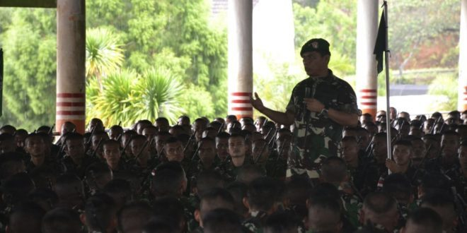 Pangdam Cenderawasih: Satgas Pamtas RI-PNG Harus Beri Kebaikan di Tanah Papua