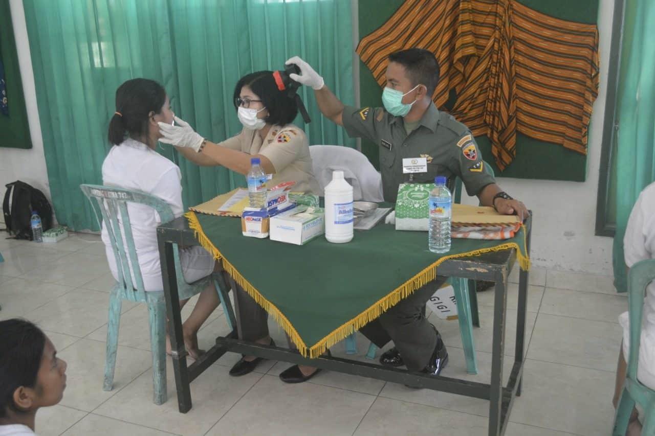 Sub Panda NTB Gelar Seleksi Secaba PK TNI AD Unggulan dan Wanita Reguler