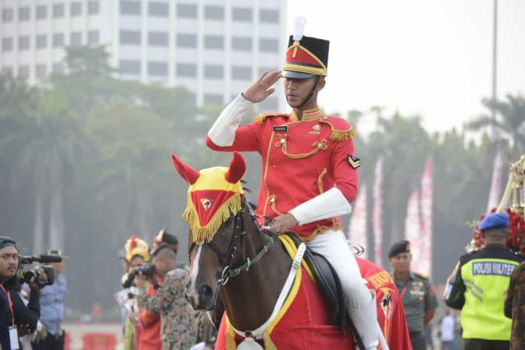 Denkavkud, Pasukan Berkuda Pengawal Sang Merah Putih dan Naskah Proklamasi