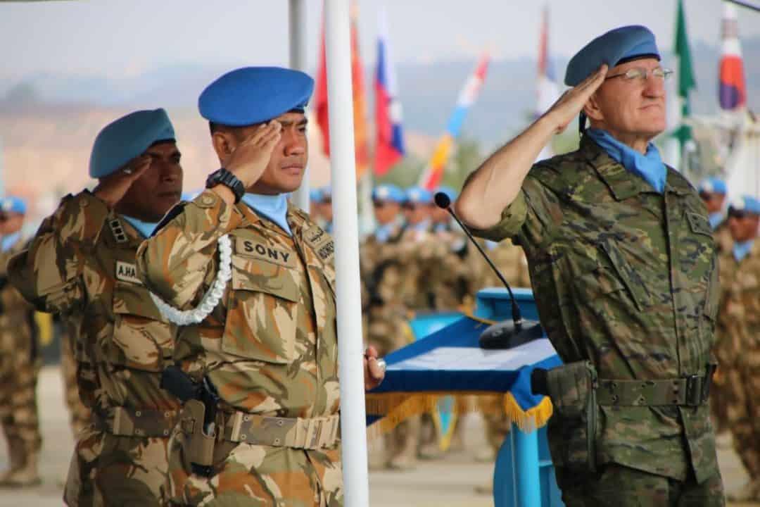 Istimewa, Dansektor Timur UNIFIL Irup Upacara Peringatan HUT ke-74 RI di Lebanon Selatan