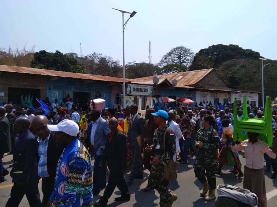 Lama Tertunda Akibat Konflik, Satgas Indo RDB Berhasil Fasilitasi Pentahbisan Pastur di Kongo