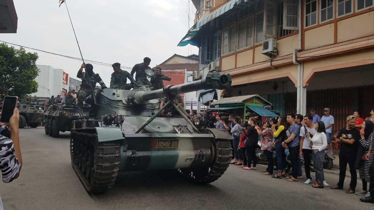 Karnaval dan Pameran Alutsista di Singkawang, Tumbuhkan Kebanggaan dan Cinta Tanah Air