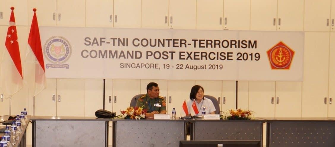 TNI-SAF Gelar Latma Counter Terrorism Command Post Exercise Tahun 2019