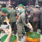Ratusan Whisky Ilegal Dimusnahkan Satgas Yonif R 509 di Oksibil