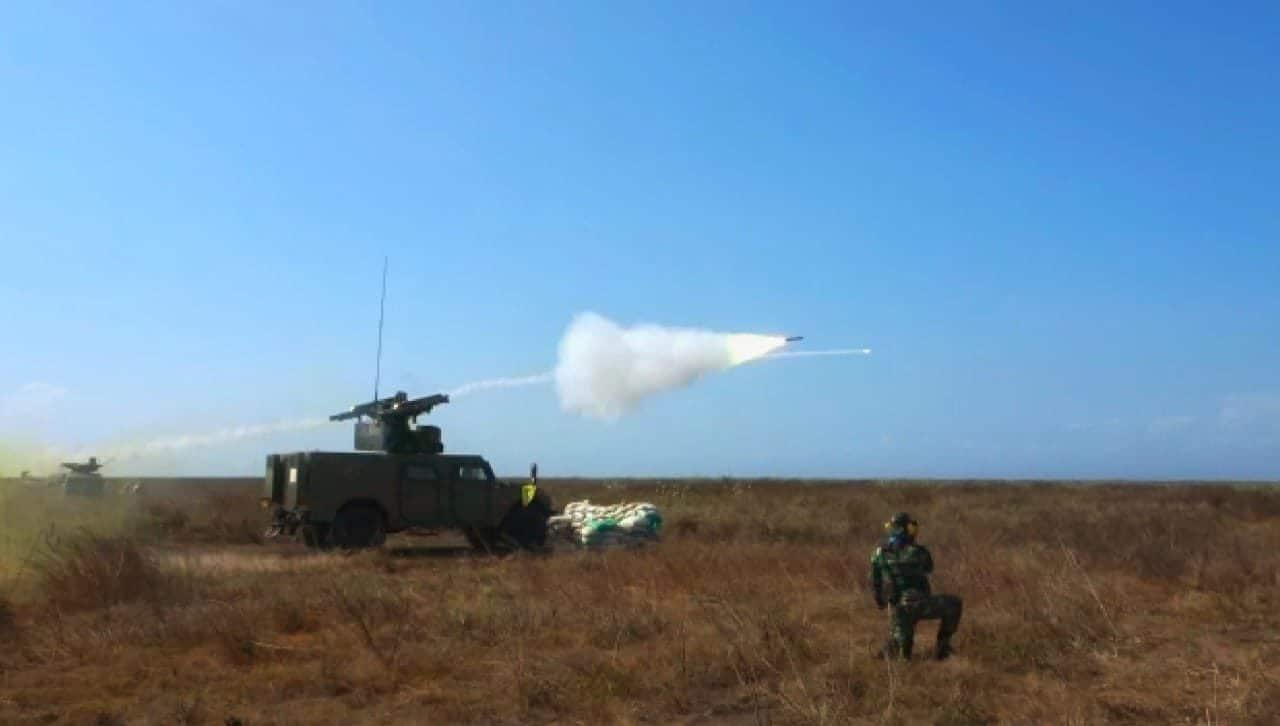 Canggih dan Profesional, Rudal-Rudal Arhanud TNI AD Hancurkan Sasaran di Udara