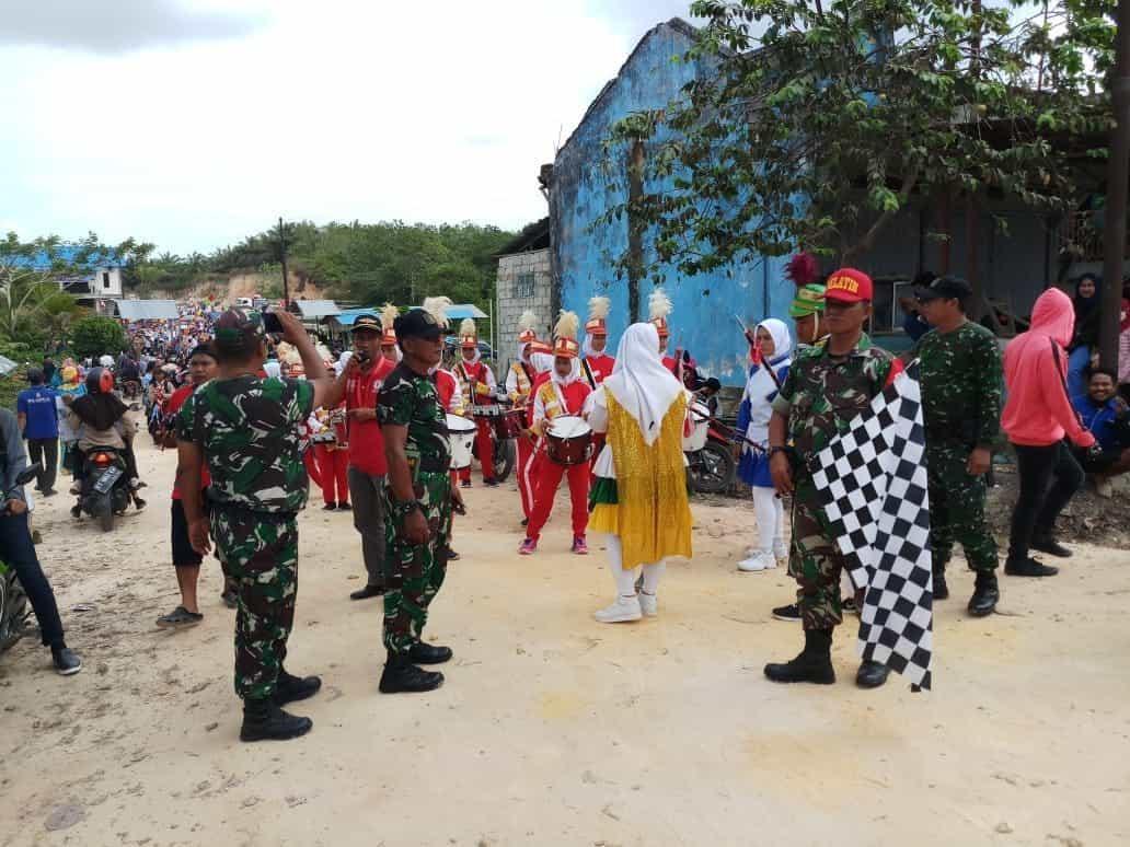 Karnaval Pembangunan Babulu, Unik dan Menarik
