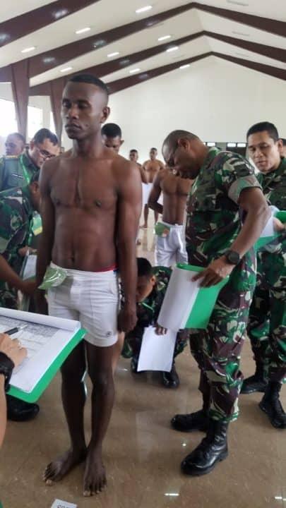 44 Putra Daerah dari 21 Suku di Pedalaman Papua Barat Selangkah Lagi Jadi Prajurit TNI AD