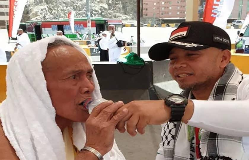 Serka Sugandi, Pengurus Transportasi Jemaah Haji Indonesia Di Syib Amir