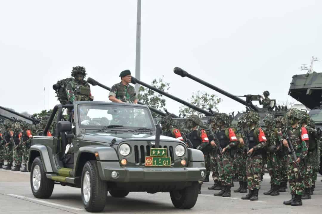 Brigif Para Raider–17/1K Berangkat ke Kartika Yudha 2019