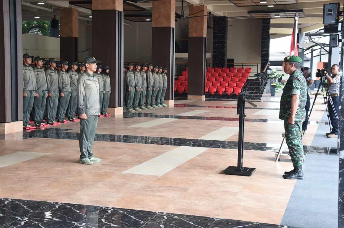 Libatkan 215 Orang, Kontingen TNI AD Ikuti Piala Panglima TNI 2019
