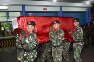 Penghormatan Terakhir Sertu (Anumerta) Rikson Edi Chandra, Kodam II/Swj Gelar Upacara Penghormatan Secara Militer