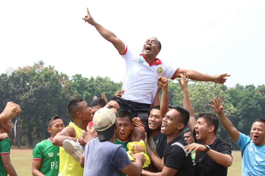 Lima Tahun Menanti, PSAD Rebut Juara Sepakbola Piala Panglima TNI