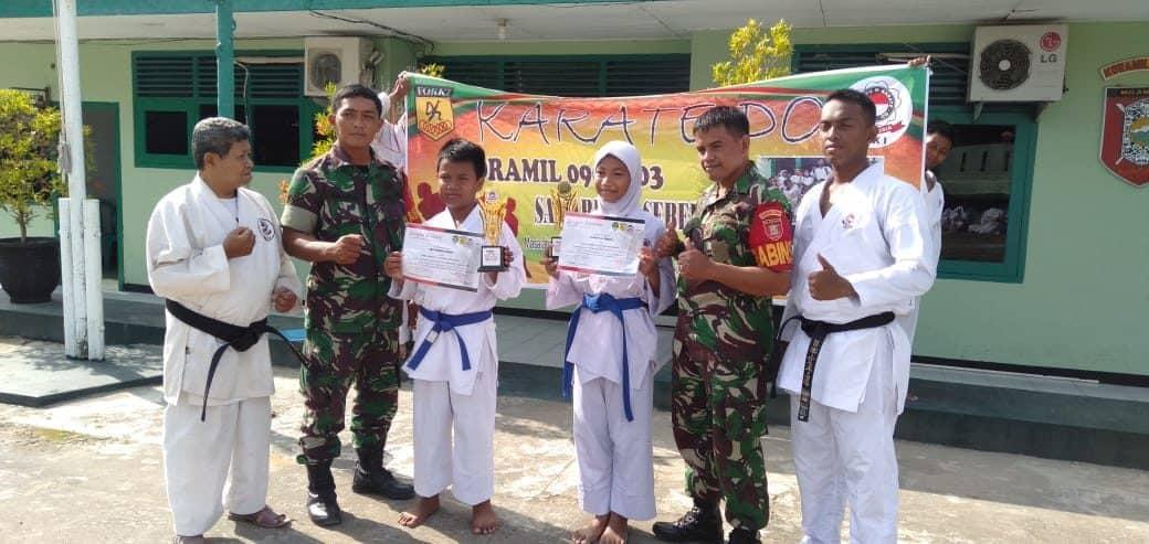 Dilatih Sertu Saneni, Koramil Samarinda Seberang Sabet Juara Umum ke-2 Provinsi Kaltim