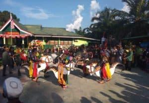 Karnaval Bhinneka Tunggal Ika di Entikong, Meriah dan Salurkan Kreativitas Masyarakat