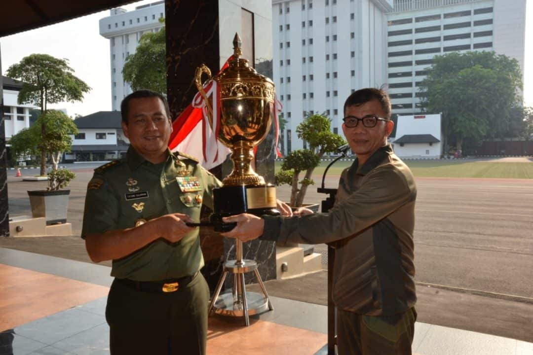 15 Kali Juara Umum Piala Panglima TNI 2019, Keberhasilan Keluarga Besar TNI AD