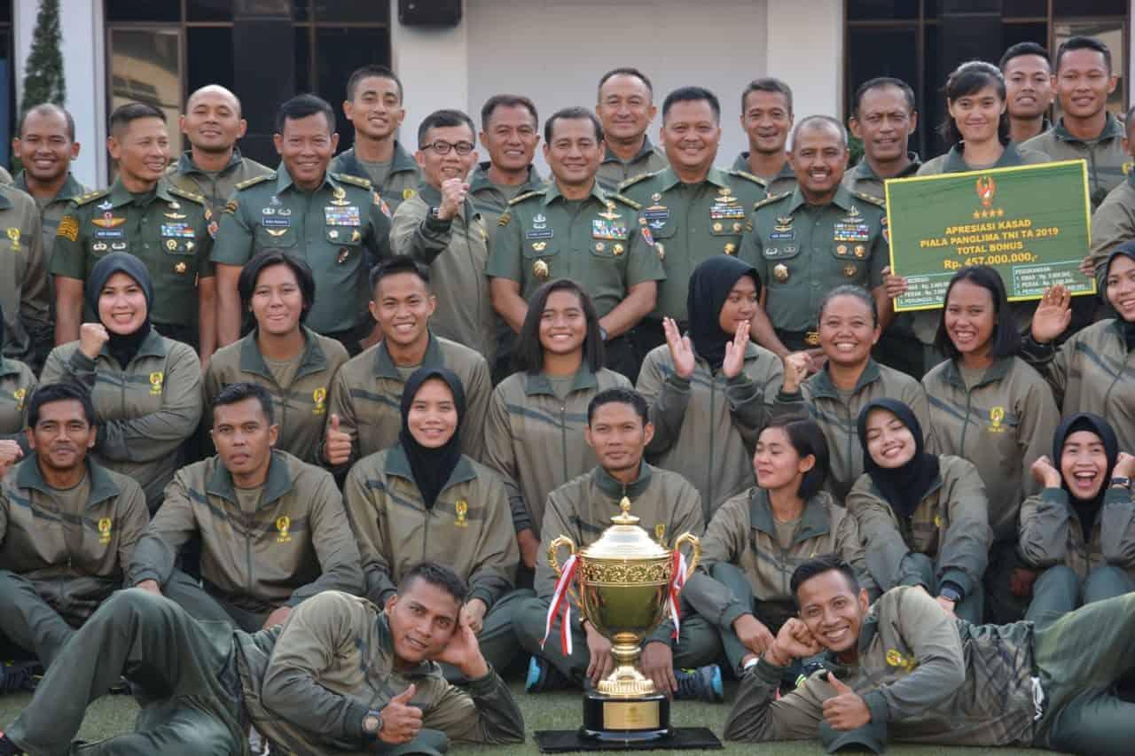 Juara Umum Piala Panglima TNI 2019, Keberhasilan Keluarga Besar TNI AD