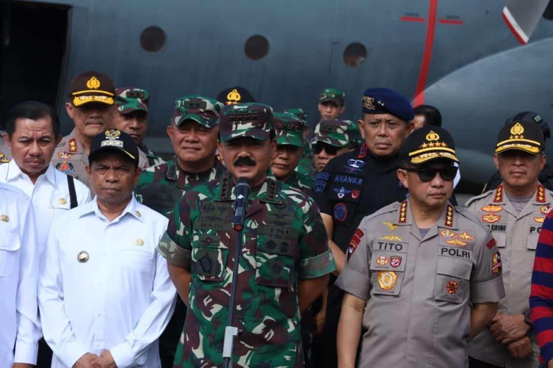 Uji Rencana Operasi PPRC TNI, Divif-2 Kostrad Latihan di Wamena dan Sentani
