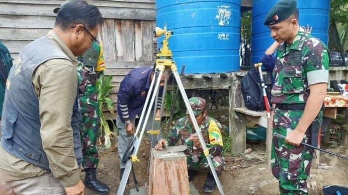 Dirtopad: Patok Baru di Desa Aji Kemuning, Solusi OBP Indonesia-Malaysia