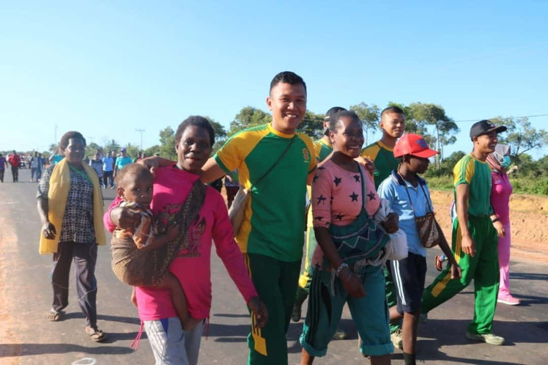 Harmoni di Perbatasan RI-PNG, Kitorang Basudara Damai Itu Indah