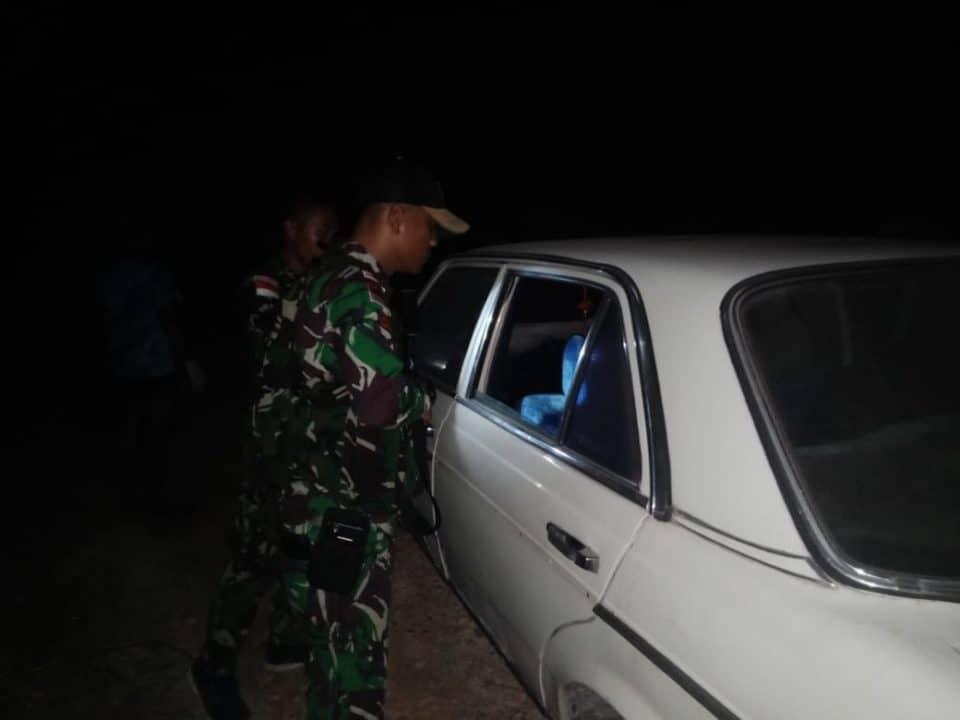 Satgas Yonif 643 Berhasil Gagalkan Penyelundupan 1 Mobil Mewah Asal Malaysia