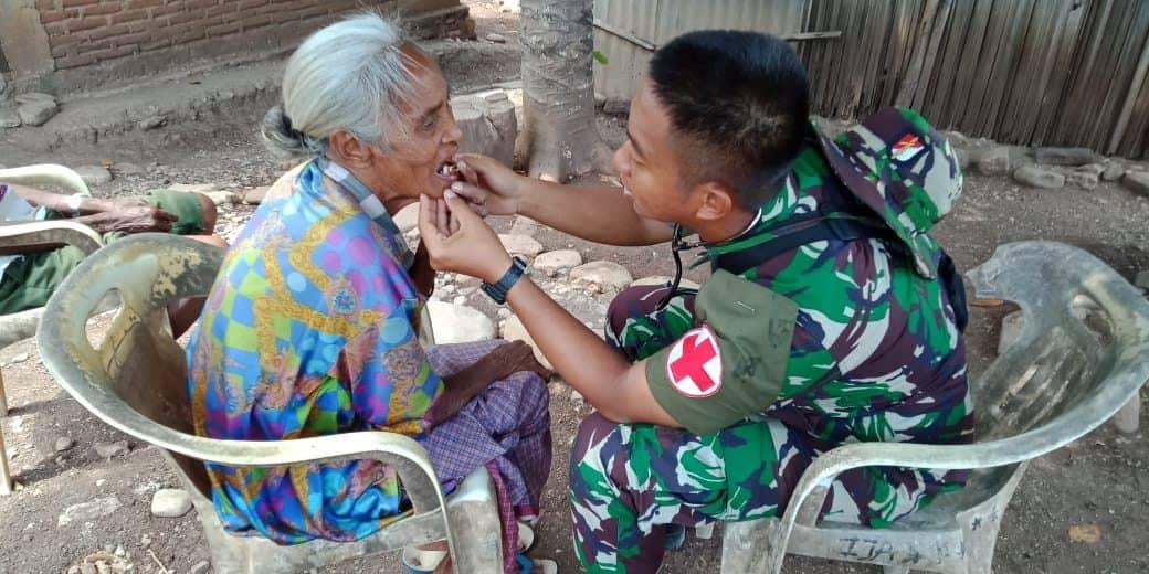 Team Mobile Clinic, Layanan Kesehatan Gerak Cepat Satgas Yonif 142