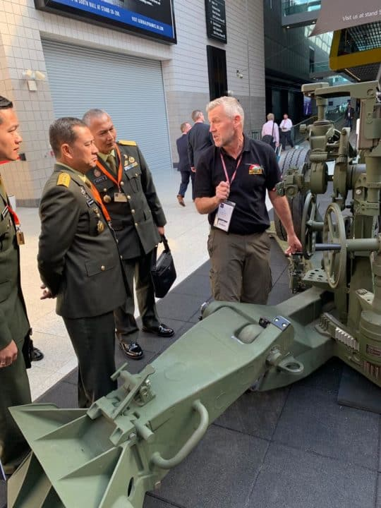 Wakasad Hadiri Pameran Pertahanan dan Keamanan 2019 di London