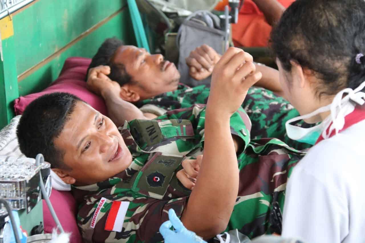 Darah Pandawa untuk Warga Perbatasan RI-PNG