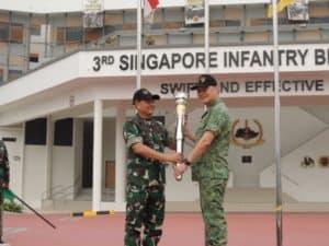 Wakasad : Latma Safkar Indopura, Wahana Bangun Hubungan TNI AD-Singapore Army