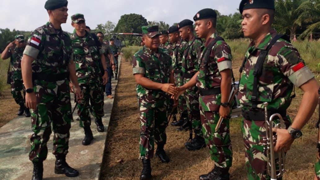 Pangdam Mulawarman: Pos Perbatasan Bagian Wibawa Pemerintah