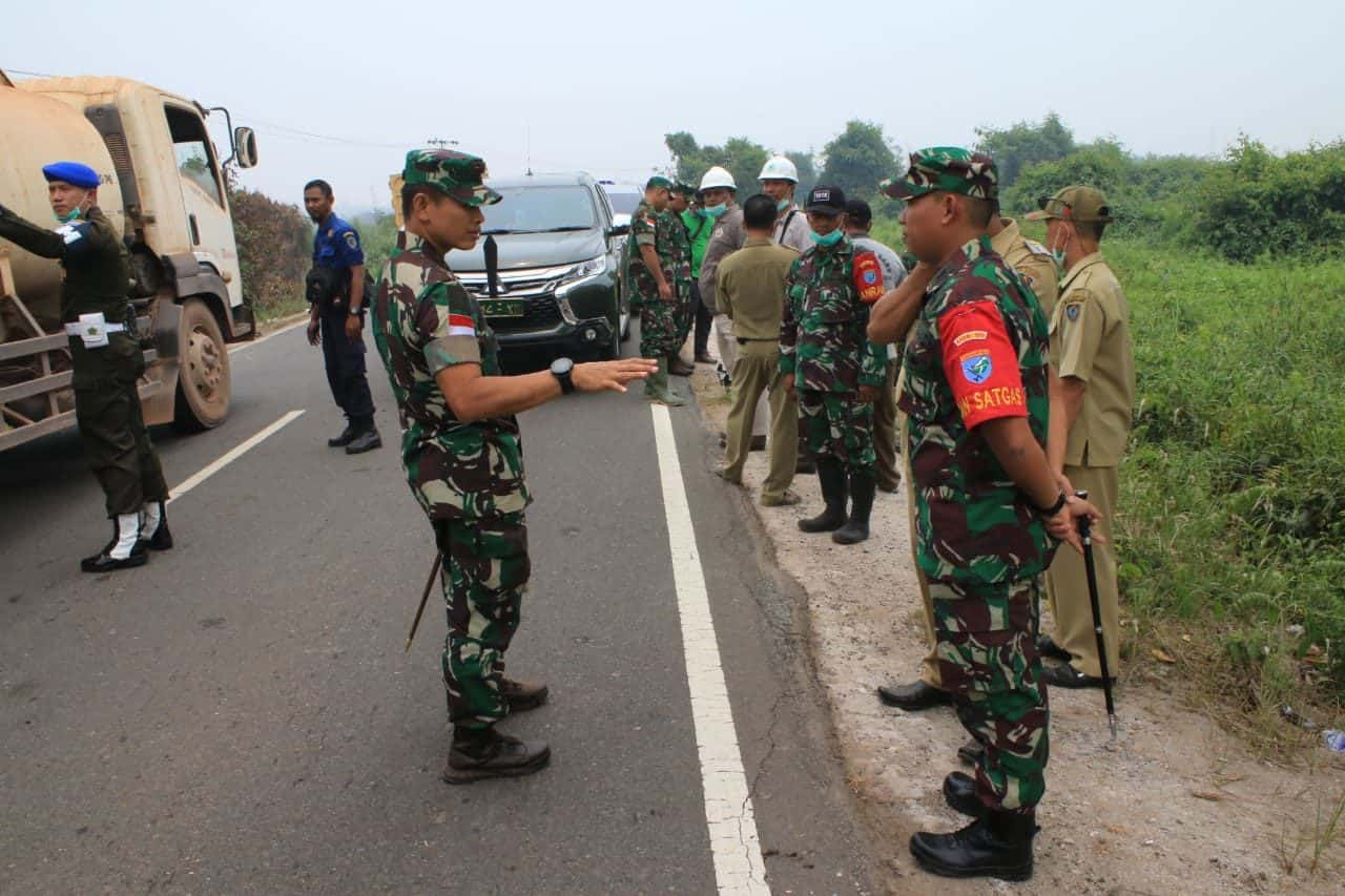 Antiispasi Karhutla, Pangdam Tanjungpura Perintahkan Satgas Pamtas Intensifkan Patroli