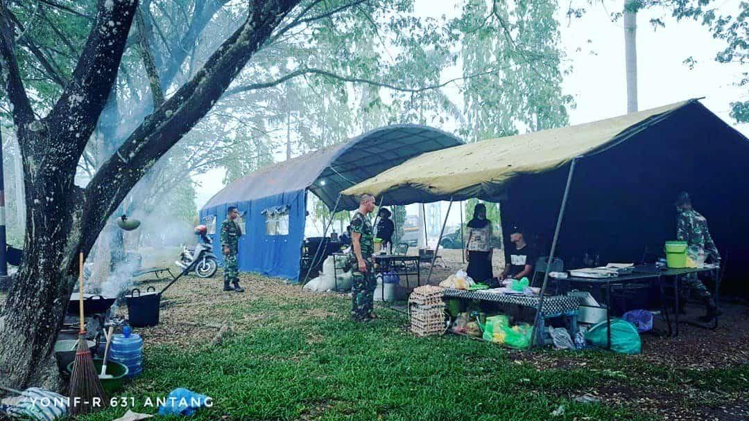 Kreatif, Rumah Oksigen Yonif R 631 Atasi Dampak Kabut Asap di Palangkaraya