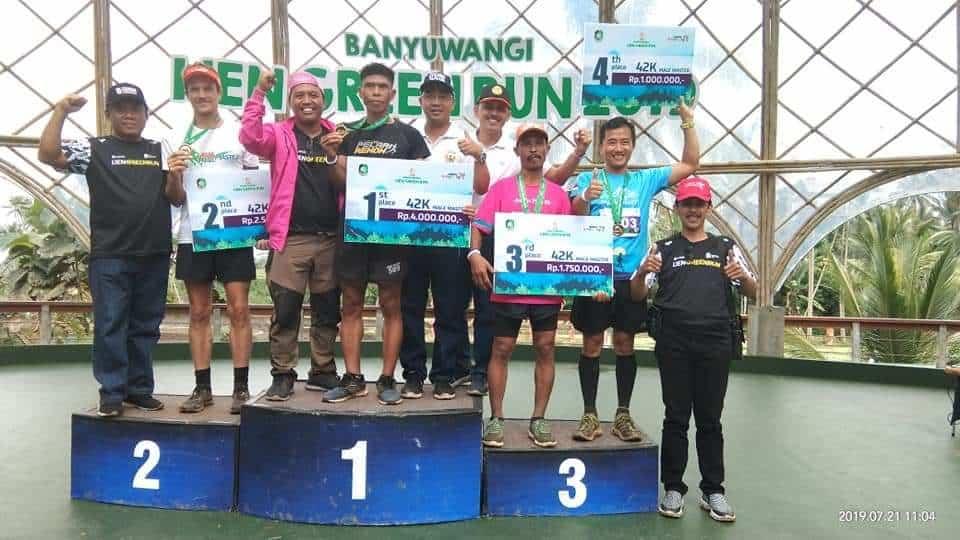 Meriahkan HUT ke-74 TNI, Serka I Dewa Gede Astawa Ikuti Lari 374 Km