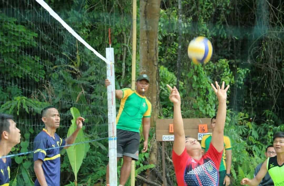 Pacu Semangat Pemuda Malinau, Satgas Yonif 303 Gelar Pamtas Cup 2019