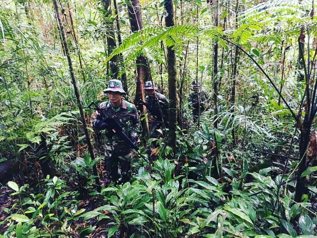 Susuri Belantara Kalimantan, Satgas Pamtas Yonif Raider 303/SSM Kostrad Jamin Kedaulatan Negara