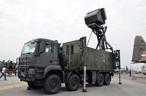 HUT ke-74 TNI, Arhanud TNI AD Tampilkan Shikra, Radar Pendeteksi Sasaran Sejauh 250 km