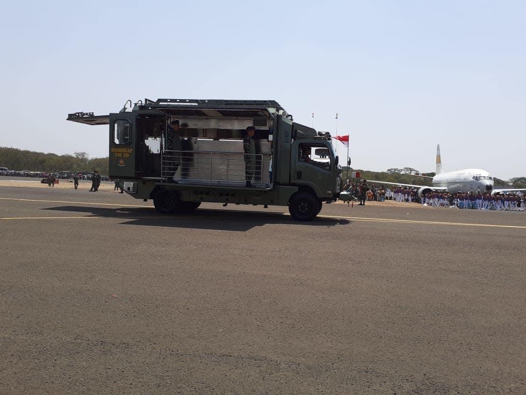 HUT ke-74 TNI, Tampilkan PrototypeDapur MobileTNI AD