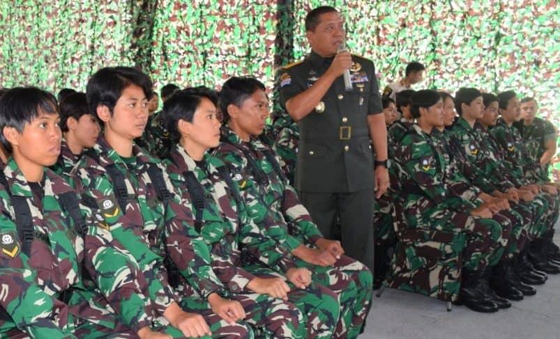 Ratusan Calon Prajurit Kowad Ikuti Pendidikan di Pusdik Kowad Kodiklatad