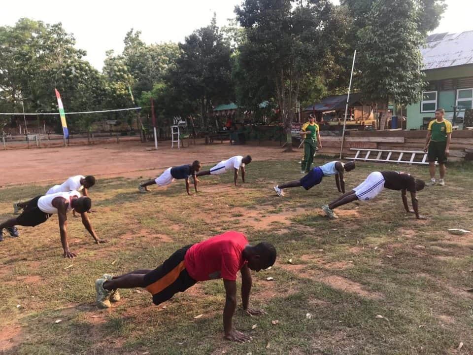 Siapkan Pemuda Suku Kanum Jadi Prajurit, Satgas Yonif MR 411 Gelar Pelatihan di Merauke