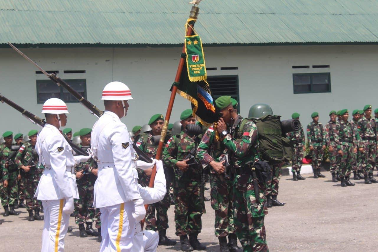 Jaga Kedaulatan NKRI, Prajurit Yonif 711/Rks Perkuat Satgas Pam Pulau Terluar