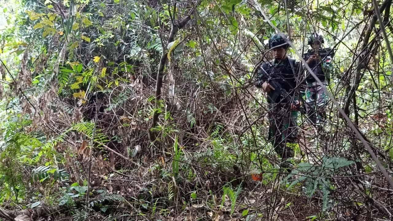 Jamin Keamanan Wilayah, Satgas Yonif R 509 Gelar Patroli Keamanan di Keerom