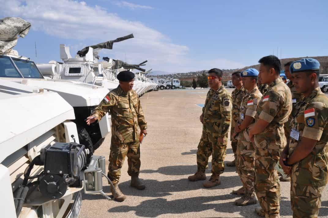 Jelang Purna Tugas, Satgas Indobatt XXIII-M/UNIFIL Terima Tim Verifikasi Mabes TNI