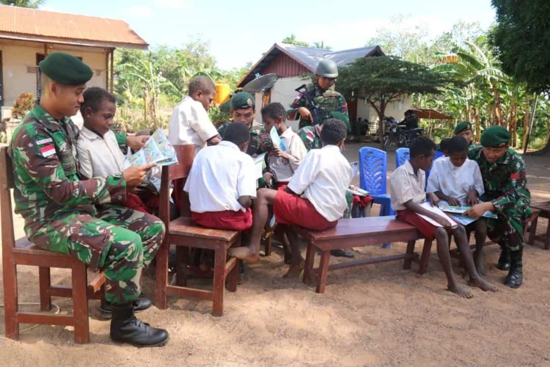 Tingkatkan Minat Baca Generasi Muda di Perbatasan RI-PNG