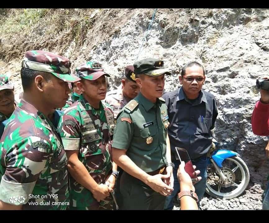 Pastikan Tepat Sasaran, Tim Wasev TNI AD Tinjau TMMD ke 106 Kodim 0814/Jombang